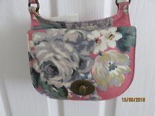 CATH KIDSTON Mini Turnlock Saddle Bag *BNWT* Norfolk Rose in Vintage Pink