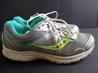 Saucony Womens Cohesion 10 Running Shoes Sz 11 Good Condition!