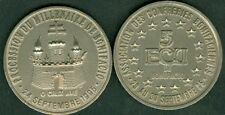 5 ECU TEMPORAIRE DES VILLES DE BONIFACIO 1995  ETAT  NEUF