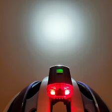 GEM MACRO DUO HEADLUX Helmet Mount LED Light Rechargeable Front/Rear Bike