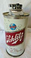 Vintage Schlitz Beer Can Table Lighter By Kramer Product Co.