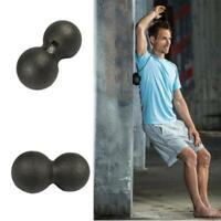 Peanut Massage Ball Double Lacrosse Ball Trigger Point Pain Release DD