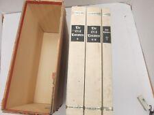 Gutenberg Bible - Facsimile (3 volumes:  2 OT 1 NT).  Slipcase.  1968