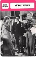 FICHE CINEMA :  ANTHONY ASQUITH -  Grande-Bretagne (Biographie/Filmographie)