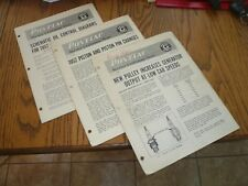 New listing 1952 Pontiac Craftsman Service News February March April - Vintage