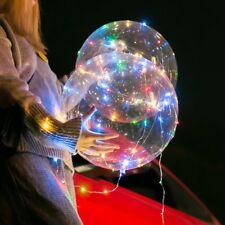 20 inch lumineux ballon rond transparent bulle décoration de Noël + corde LED