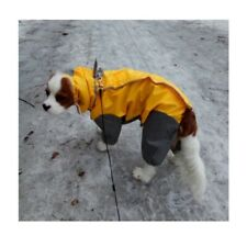 Raincoat Clothes Pet Hooded Waterproof Raincoats Coat Jacket Apparels Polyester