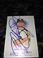 AJ Pierzynski White Sox Signed 2010 Topps Allen & Ginter Card IP COA