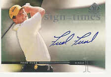 2004 UPPER DECK SP AUTHENTIC FRED FUNK AUTO SIGN OF THE TIMES