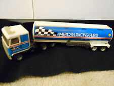 Ertl American Racing Fuels Tanker Truck Die Cast Collectible & Very Hard To Find