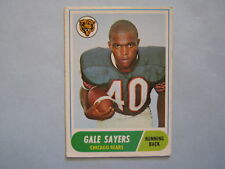 GALE SAYERS  Chicago Bears  1968  Topps  Football  Card