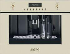 Smeg CMS8451Beige built-in coffee machine nostalgia,free ship Worldwide