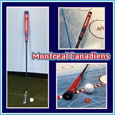 Montreal Canadiens NHL Golf Putter - Custom Made - Blue Shaft, Team Logo Grip