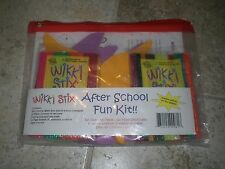 Wikki Stix After School Fun Kit 324 Wikki Stix Creative Activity for 15+ Kids