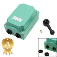 60A 0-380V Drum Switch Forward/Off/Reverse RainProof Motor Control Good Quality