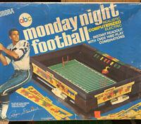 Vintage 1972 Aurora 'Monday Night Football' Computerized Toy Game EC Box 1970s