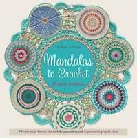 Mandalas to Crochet: 30 Great Patterns by Haafner Linssen, NEW Book, FREE & FAST