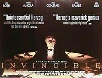 Invincible (Zweiseitig) Original Filmposter