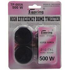 ds Set 2 Tweeter Speaker Cassa Auto 500w TP-005A Digital Audio Sound hsb
