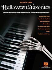 HALLOWEEN FAVORITES - BIG NOTE PIANO SONGBOOK 312305