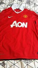 Manchester United football shirt long sleeves