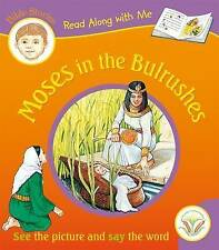 NEW Moses in the Bulrushes (Read Along with Me Bible Stories) by Anna Award