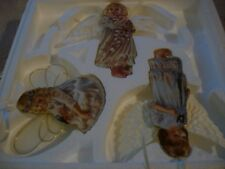 Heavens Little Angels Ornaments by Bradford Editions - Christmas Set of 3