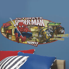 Children's Spider-Man Headboard Wall Sticker, Boy's Spider-Man Wall Decal
