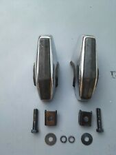 Mg Midget Set Of 2 Overiders Bumper Guards With Hardware Original Used