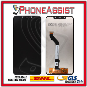 LCD Display For Xiaomi Pocophone F1 M1805E10A Touch Screen Glass Black