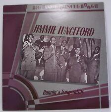 "JIMMIE LUNCEFORD : RUNNIN A TEMPERATURE Vinyl LP 12"" Album 33rpm Excellent"