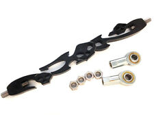 Fit For Softail FXDWG Dyna Wide Glide FLHT Electra Black Skull Shift Linkage
