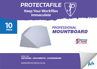 COVER BOARD  EXTRA HEAVY DUTY A4 PVC 100 SHEETS 250mic IDEAL FOR VISOR MAKING