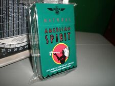 Natural American Spirit EMPTY Cigarette Tin GREEN FLIP NOS orig. package, L@@K!!