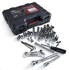New Craftsman 108 Pc Piece SAE Metric Mechanics Tool Set Tools Sockets Wrenches