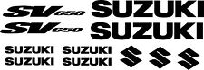 suzuki sv 650 - sv 1000 kit adesivi - sticker