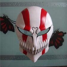 Anime Bleach IchigoTensa Bankai Kurosaki Cosplay Hollow Mask Helmet Halloween