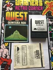 CBS Colecovision Adam  Retro gaming Game Quest For Quintana Roo And Manual Only
