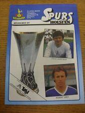 07/03/1984 Tottenham Hotspur v Austria Memphis [UEFA Cup] . Item appears to be i