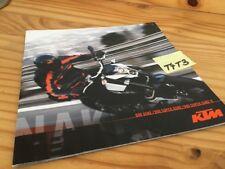 KTM 690 Duke 990 super Duke + R catalog prospekt prospectus brochure catalogue