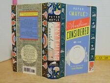 Anything Considered by Peter Mayle (1996, Hardcover) BCE