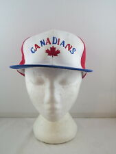 Vancouver Canadians Hat (VTG) - Triple A logo Word Logo  - Adult Snapbackl
