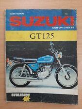 Suzuki GT125 Owners Workshop Manual