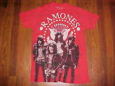 Rock and Rebellion Vintage Punk Rock Ramones Presedential Seal Red T-Shirt XL