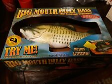 New listing Big Mouth Billy Bass Singing Sensation Needs Batteries