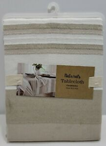 Chambord 52-Inch X 70-Inch Oblong Tablecloth in Natural
