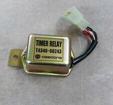 New OEM KIOTI T4340-60243 Timer Relay For DK35, DK40, DK45, DK50, DK551 Models