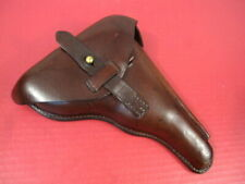 Wwi German Leather Holster for Luger P08 Pistol - Converted Artillery Holster #2