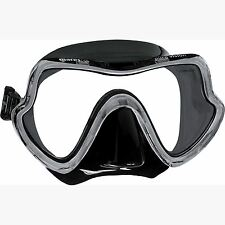 Mares Pure Vision Single Lens Wide View Diving / Snorkelling Mask - Black