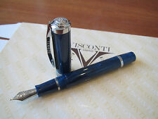 Visconti Barrier Reef blue LE Fountain pen 23kt Med nib MIB